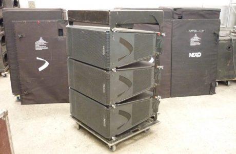 Πώληση συστήματος NEXO από την εταιρία Serres Sound