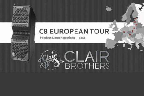 Παρουσίαση Clair Brothers C8 στο Fuzz