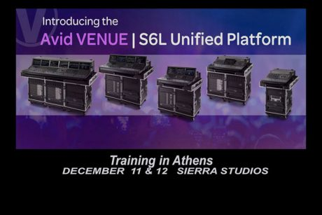 AVID Venue S6L Training στο Sierra