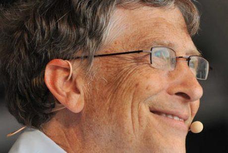O Bill Gates με DPA μικρόφωνα