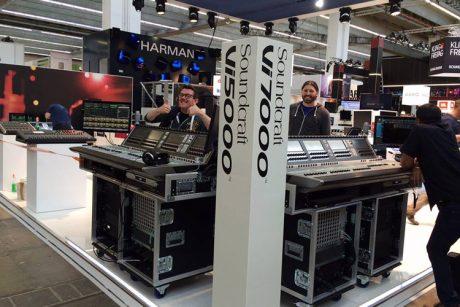 Ετοιμες οι νέες Soundcraft Vi5000 και Vi7000